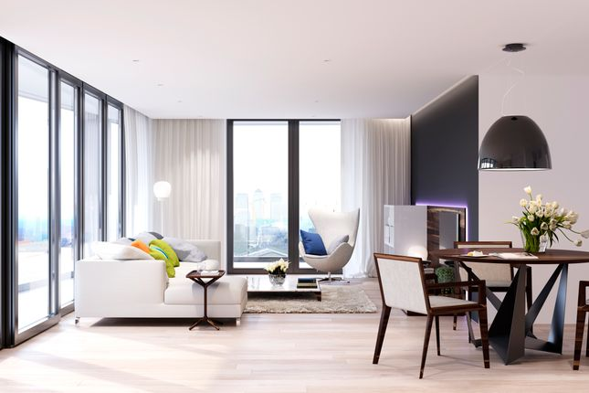Studio for sale in Royal Wharf, London
