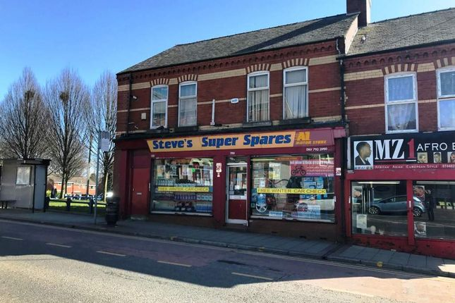 Thumbnail Retail premises for sale in Great Cheetham Street East, Salford