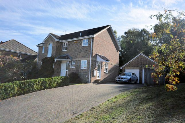 Thumbnail Detached house for sale in Greensleeves Avenue, Broadstone