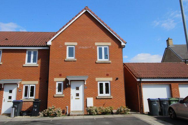 Thumbnail End terrace house for sale in Leisler Gardens, Trowbridge