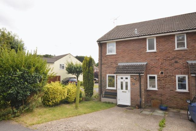 Thumbnail End terrace house to rent in Ascot Close, Alton