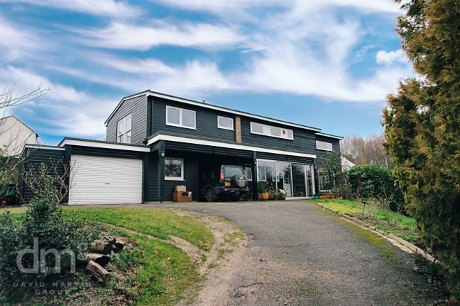 Thumbnail Detached house for sale in Work House Hill, Boxted, Colchester