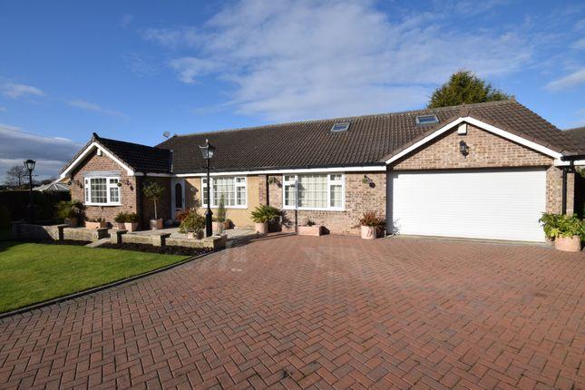 Thumbnail Detached bungalow for sale in Weetlands Close, Kippax, Leeds, West Yorkshire