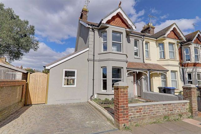 Thumbnail End terrace house for sale in Southfield Road, Broadwater, Worthing, West Sussex