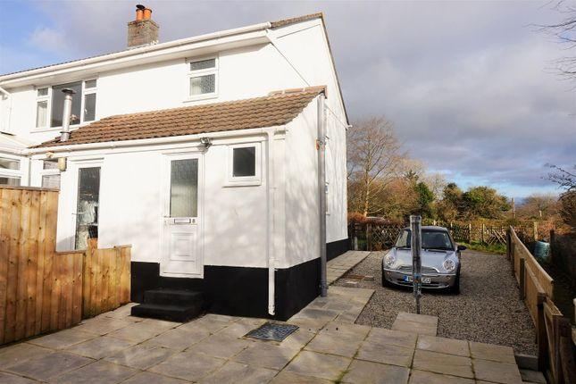 Thumbnail Maisonette to rent in Railway Crescent, Darite, Liskeard