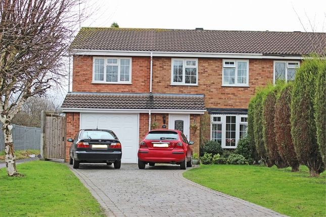 Thumbnail Semi-detached house for sale in Cottage Farm Road, Dosthill, Tamworth, Staffordshire