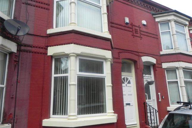 Thumbnail Terraced house to rent in Hartwell Street, Litherland