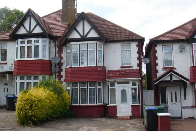 Thumbnail Semi-detached house for sale in Park Chase, Wembley