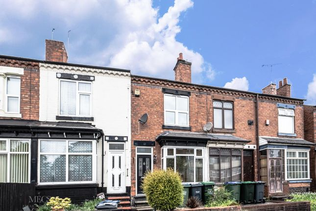 Thumbnail Terraced house to rent in Thimblemill Road, Smethwick, West Midlands