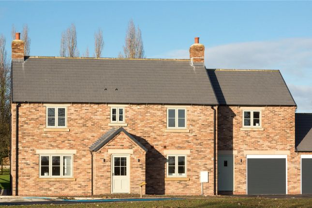 Thumbnail Link-detached house for sale in Catton, Thirsk, North Yorkshire