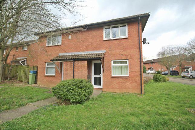 Thumbnail 1 bed property to rent in Hilliard Drive, Bradwell, Milton Keynes