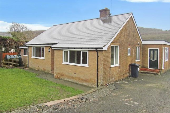 Thumbnail Detached bungalow to rent in Porth-Y-Waen, Oswestry
