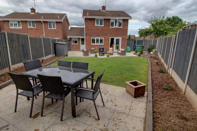 Rear Elevation of Dunster Grove, Perton, Wolverhampton WV6