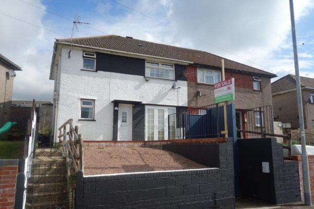 Thumbnail Semi-detached house for sale in Heol Y Mynydd, Gilfach Goch