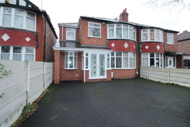 Thumbnail Semi-detached house for sale in Rosslyn Road, Old Trafford, Manchester