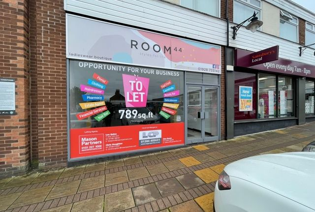 Thumbnail Retail premises to let in 15 Eddisbury Square, Frodsham