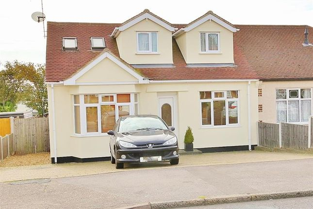 Thumbnail Semi-detached house for sale in Giffords Cross Road, Corringham, Stanford-Le-Hope