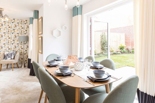 Thumbnail Semi-detached house for sale in Swallow Field, Roundswell, Barnstaple