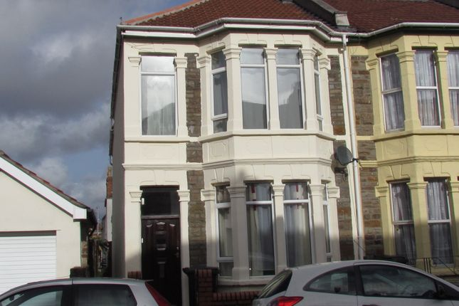 Thumbnail Semi-detached house to rent in Brook Road, Fishponds, Bristol