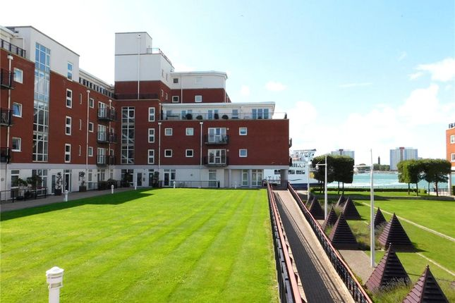 Thumbnail Flat for sale in Arethusa House, Gunwharf Quays, Portsmouth