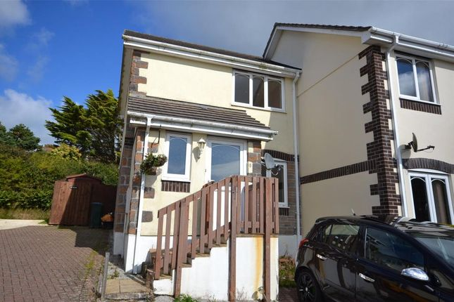 Thumbnail End terrace house to rent in Sampson Close, St. Anns Chapel, Gunnislake, Cornwall