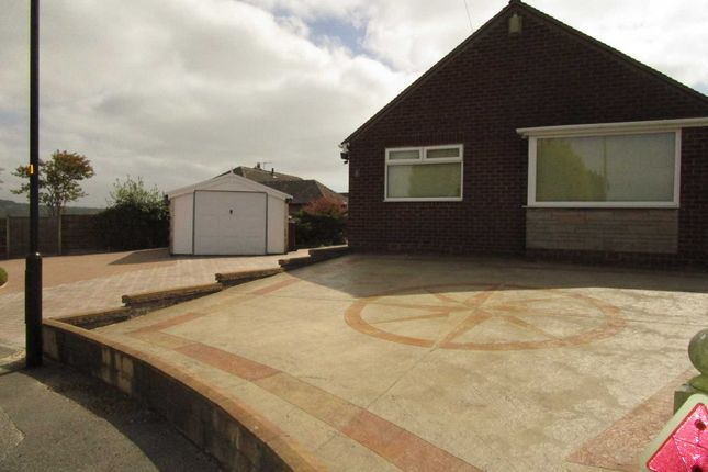 Thumbnail Detached bungalow for sale in Clevelands Close, High Crompton, Shaw