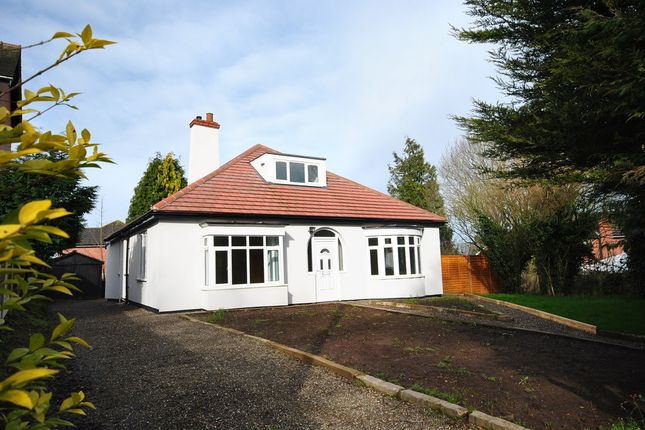 Detached bungalow to rent in Tarporley Road, Whitchurch, Shropshire