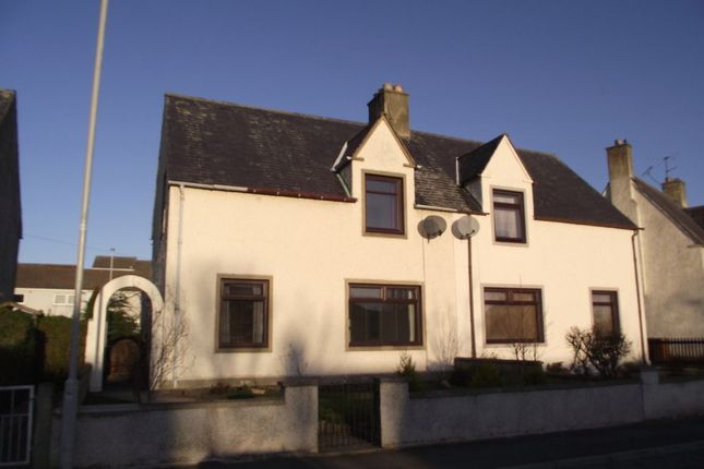 Thumbnail Semi-detached house to rent in Lossiemouth Road, Bishopmill, Elgin