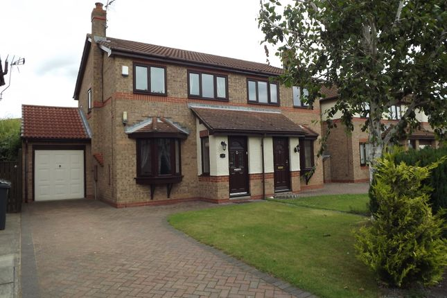 Thumbnail Semi-detached house to rent in Westpark Drive, Darlington
