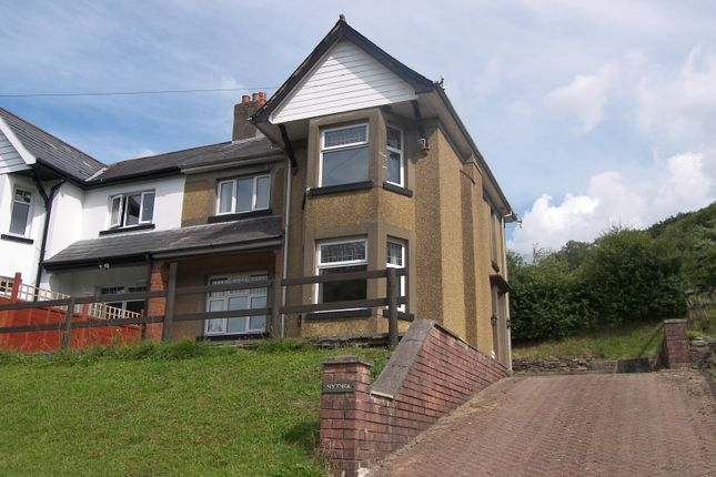 Thumbnail Semi-detached house to rent in New Road, Clyne, Neath