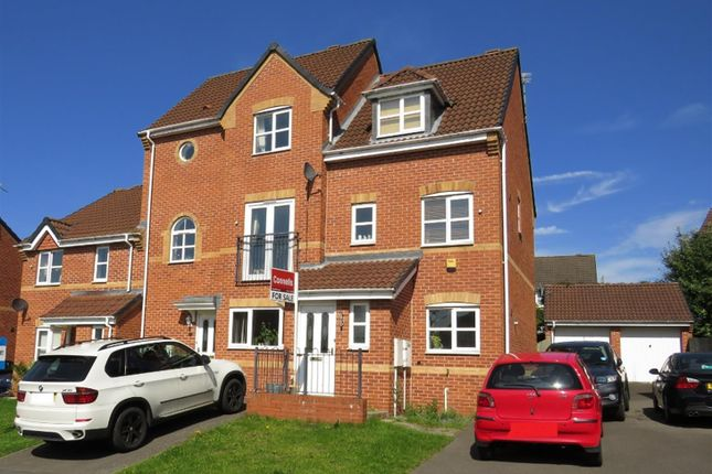 Terraced house for sale in Pipistrelle Way, Oadby, Leicester