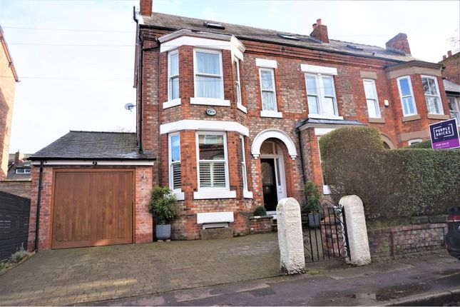 Thumbnail Semi-detached house for sale in Northen Grove, West Didsbury