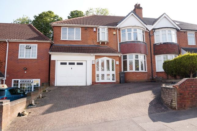 Thumbnail Semi-detached house for sale in Leopold Avenue, Birmingham