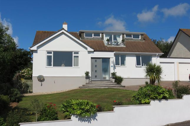 Thumbnail Detached bungalow for sale in Springfield Close, Polgooth, St. Austell