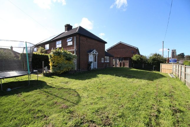 Thumbnail Semi-detached house for sale in Black Street, Martham, Great Yarmouth