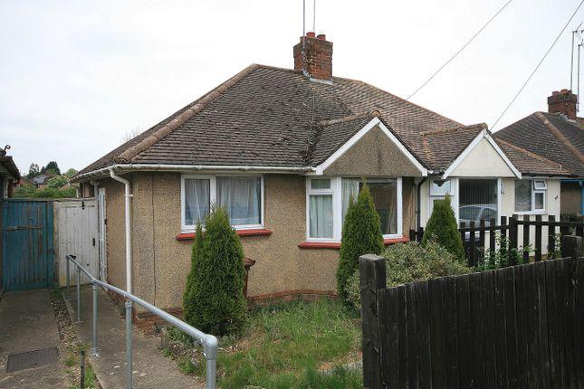 Thumbnail Semi-detached bungalow for sale in Fullingdale Road, The Headlands, Northampton