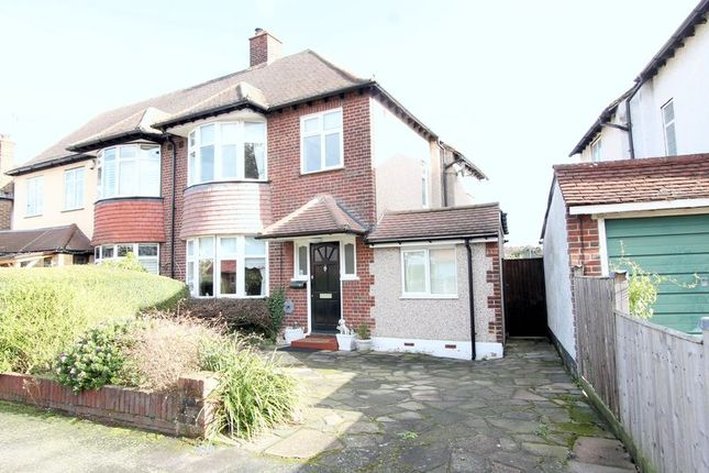 Thumbnail Semi-detached house for sale in Stafford Close, Cheam, Sutton