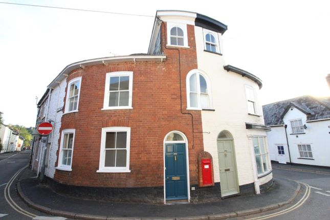 Thumbnail Terraced house to rent in Bampton Street, Tiverton