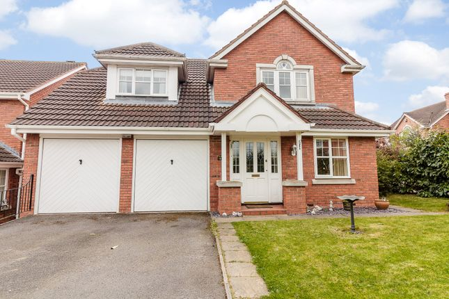 Thumbnail Detached house for sale in Peachwood Close, Grantham