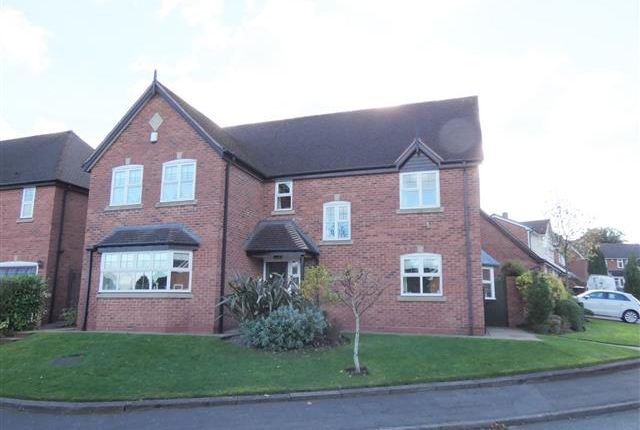 Thumbnail Detached house for sale in Poplar Rise, Little Aston, Sutton Coldfield