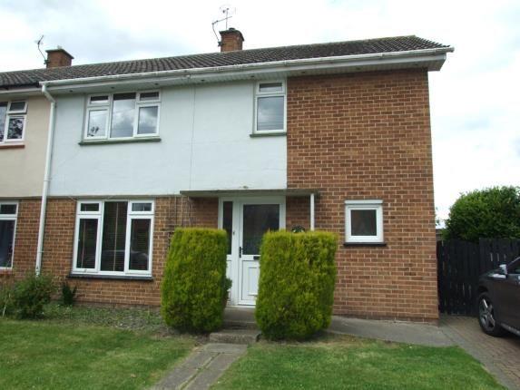 Thumbnail End terrace house for sale in Straws Lane, East Bridgford, Nottingham