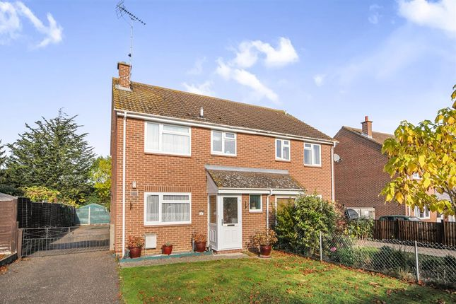 Thumbnail Semi-detached house for sale in Vicarage Avenue, White Notley, Witham