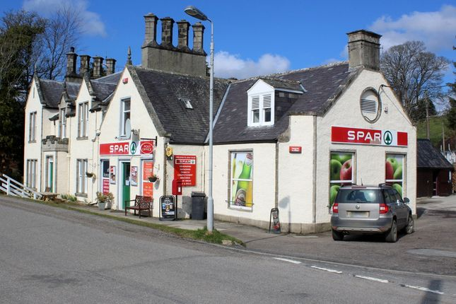 Thumbnail Retail premises for sale in Strathdon