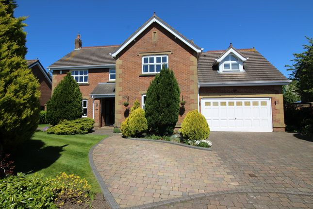 Thumbnail Detached house for sale in The Orchard, Little Eccleston, Preston