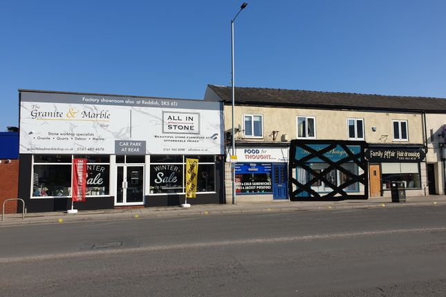 Thumbnail Retail premises for sale in Buxton Road, Stockport