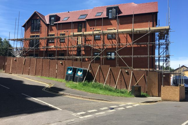 Thumbnail Block of flats for sale in Lord Cambell Court, Aldershot