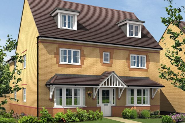 "Thumbnail Detached house for sale in ""Stratford"" at Saxon Court, Bicton Heath, Shrewsbury"