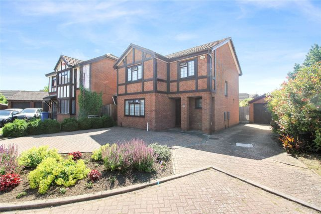 Thumbnail Detached house for sale in Burkeston Close, Kemsley, Sittingbourne
