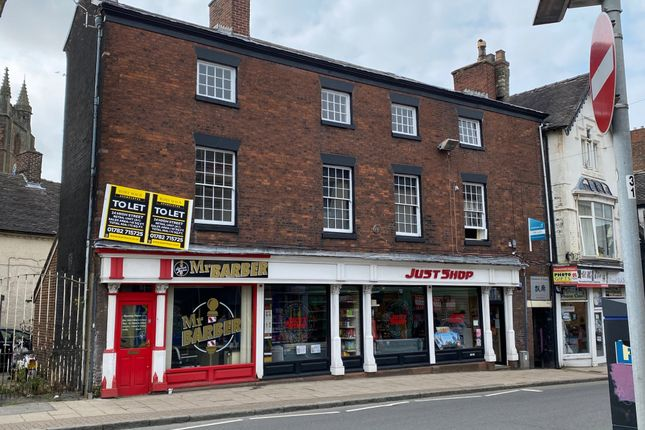 Thumbnail Commercial property for sale in 20-24 High Street, Newcastle-Under-Lyme