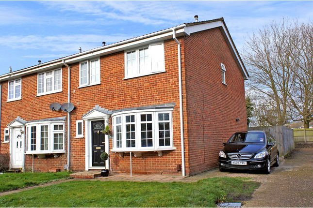 Thumbnail End terrace house for sale in The Hatches, Frimley Green